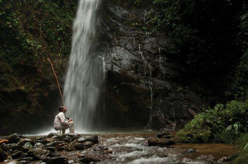 Wasserfall - Ecuador und Galapagos