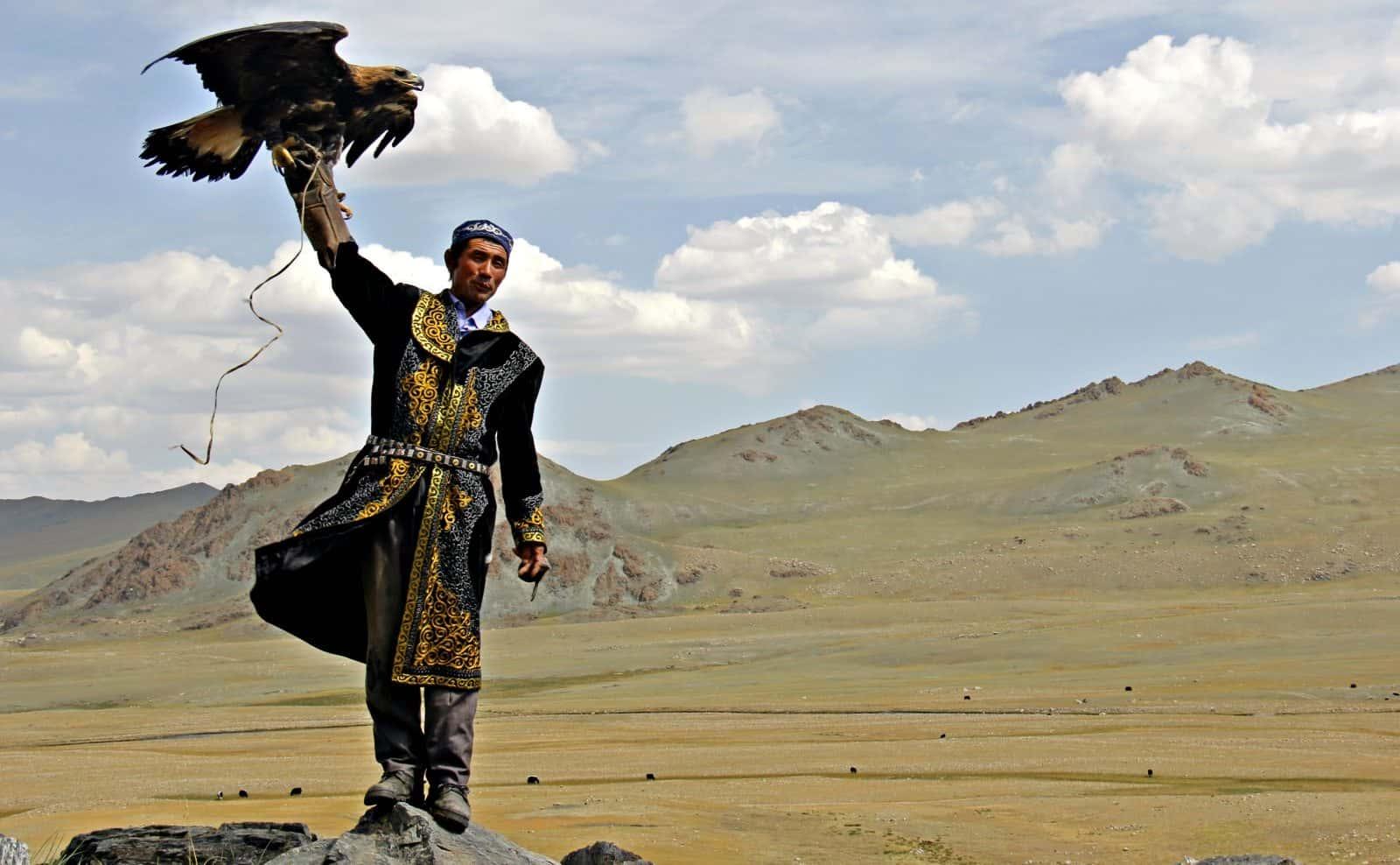 Mongolischer Falkner