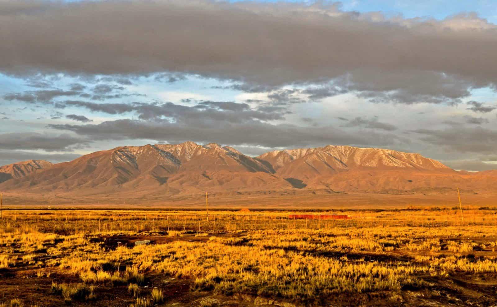 Steppenlandschaft Mongolei