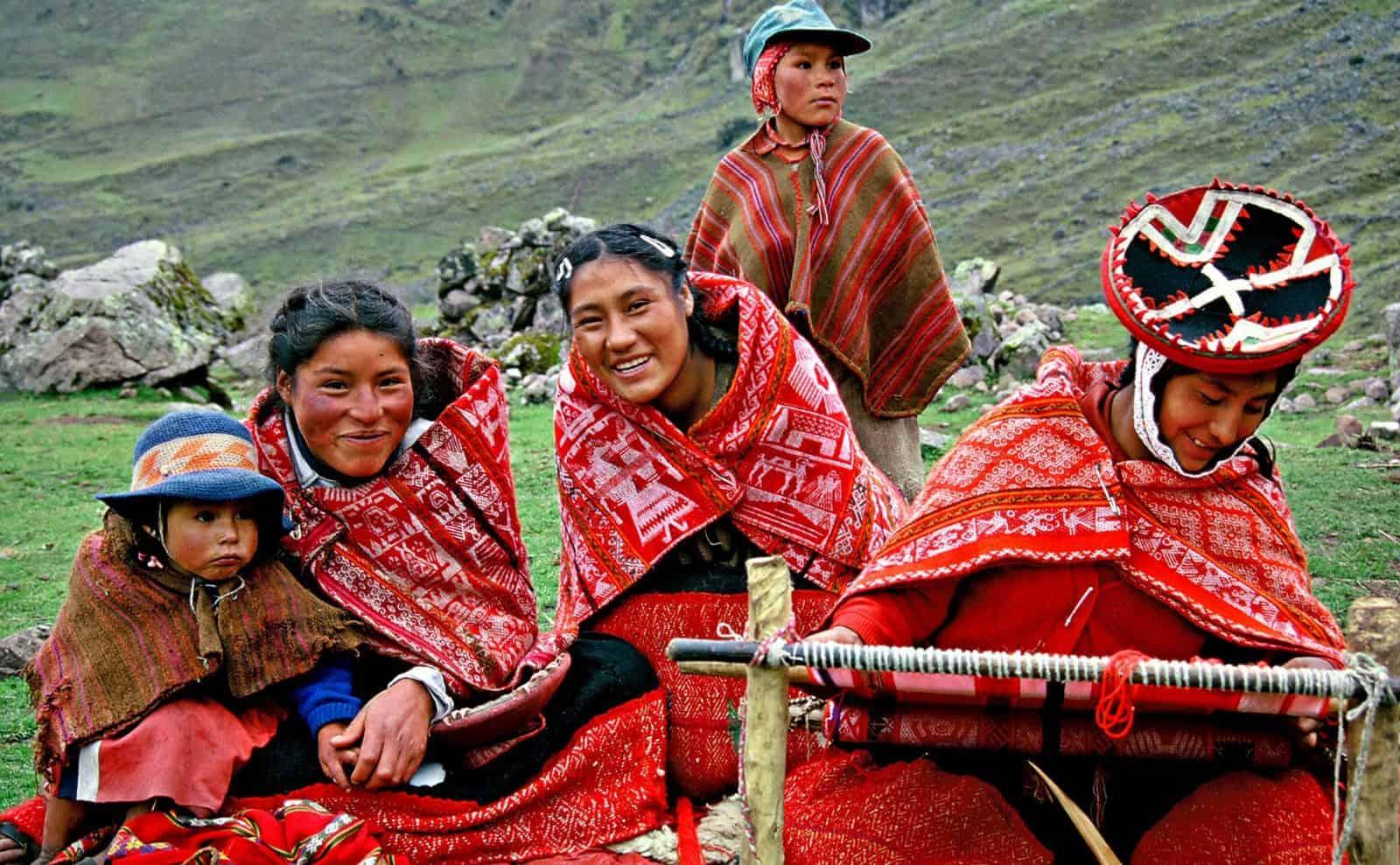 Peruanische Bevölkerung