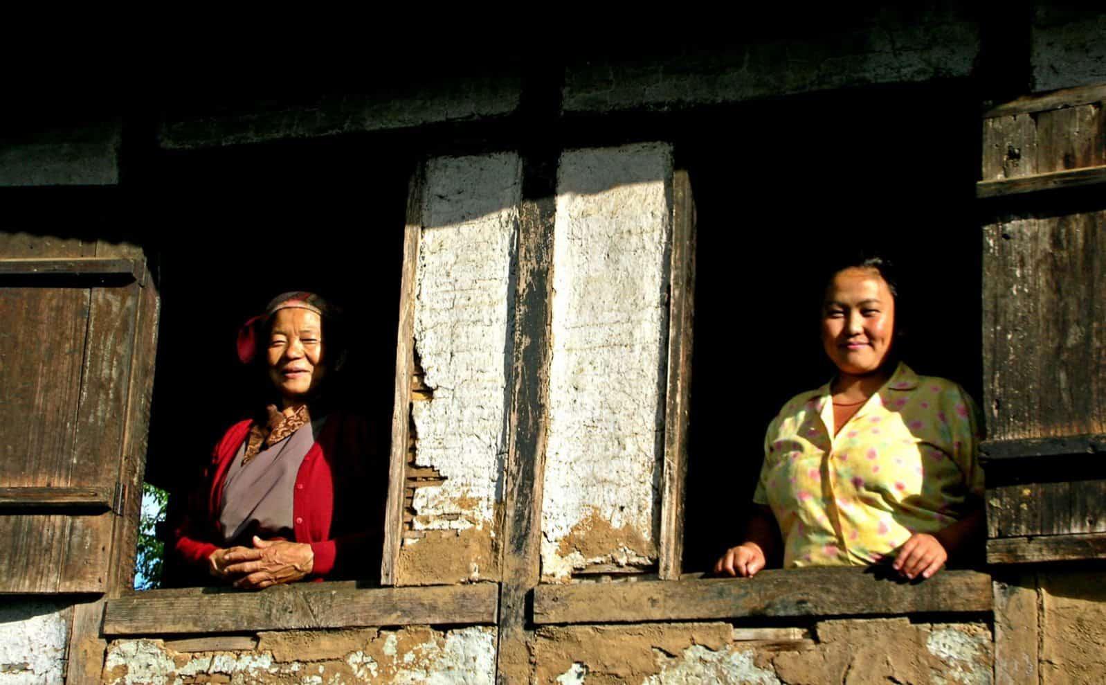 Einheimische in Sikkim
