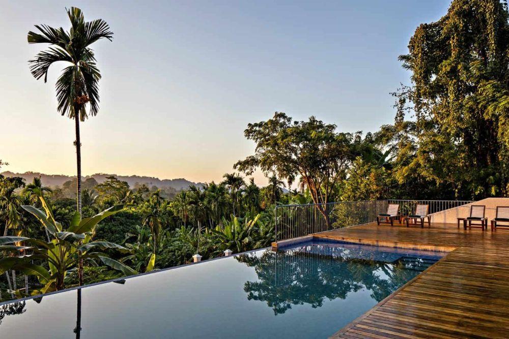 andamanen jalakara resort pool aussicht