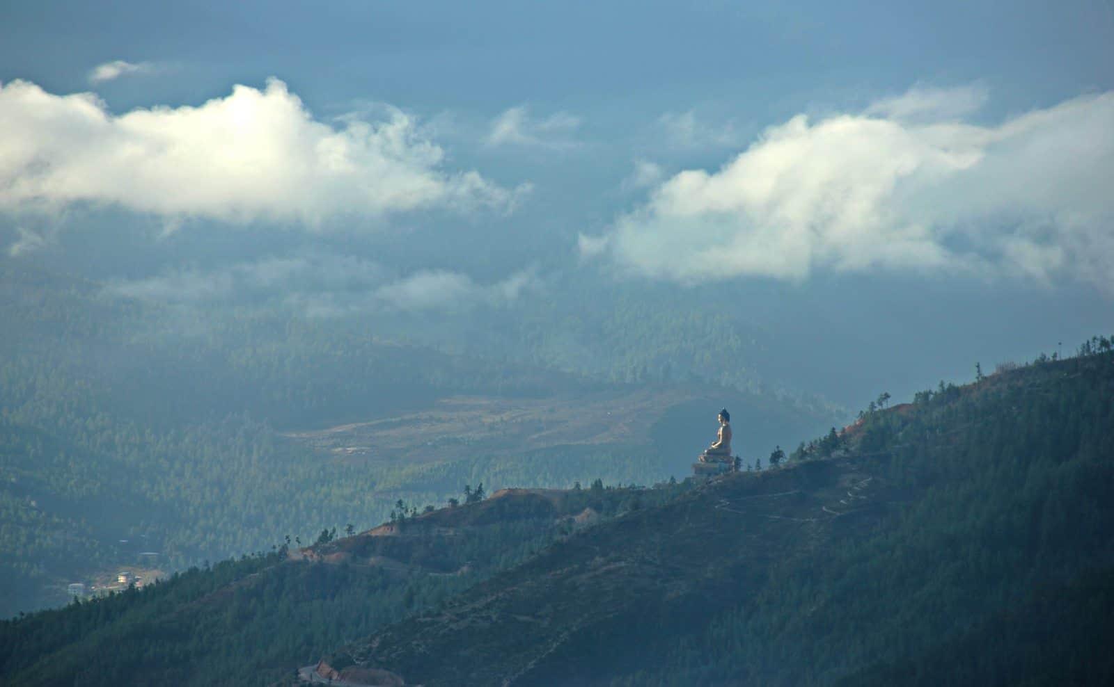 Goldene Buddha Thimphu