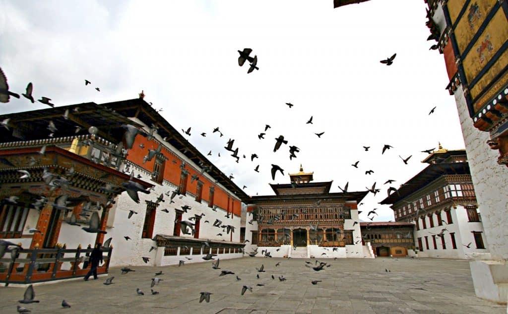 Kloster in Bhutan