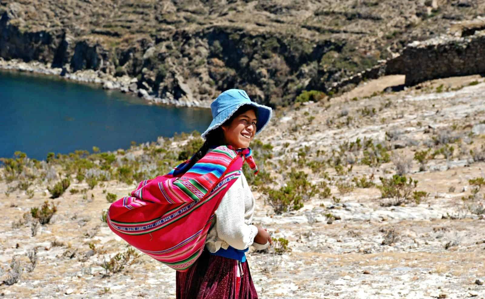 Uros-Volk am Titicacasee