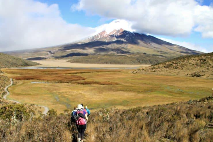 Trekking zum Cotopaxi Vulkan
