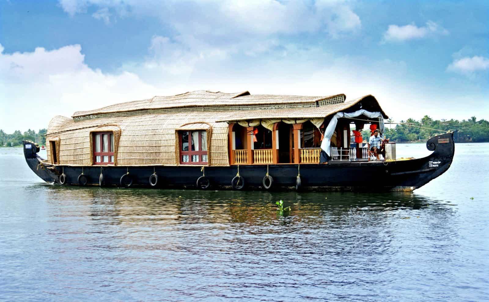 Hauboot in Kerala