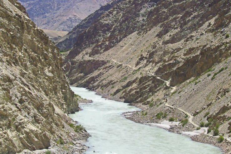 Zanskar Fluss