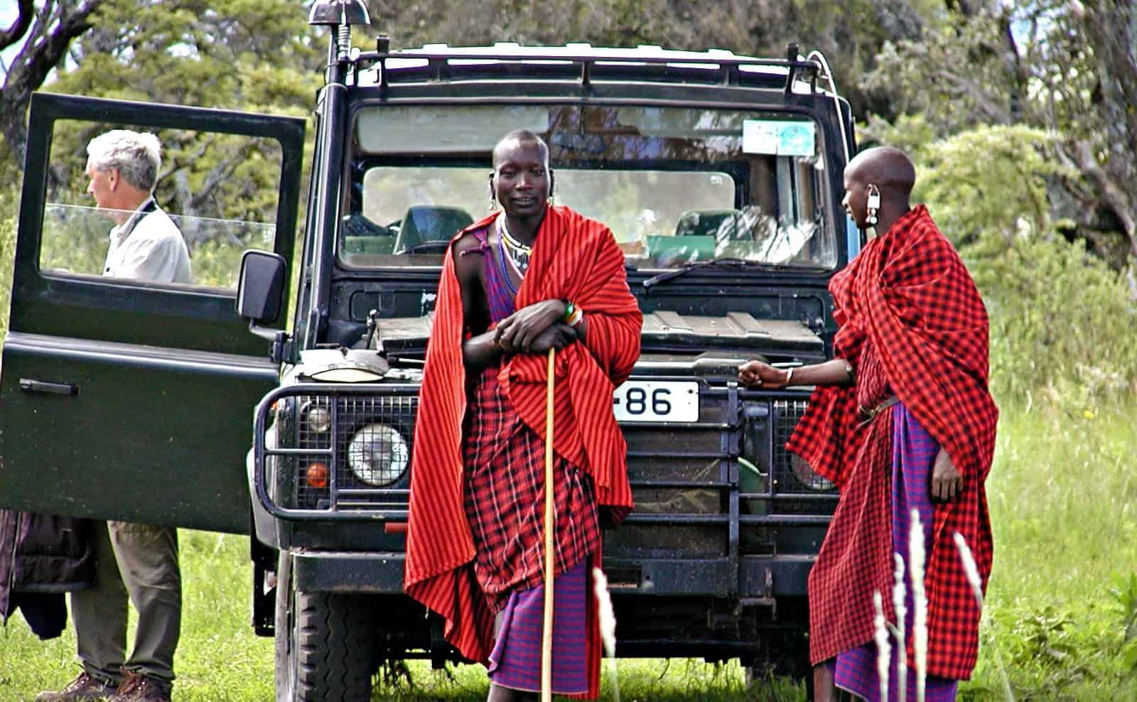 Safari mit Massaiguides