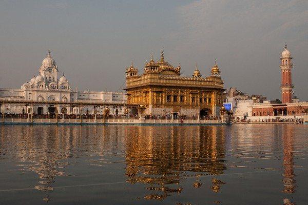 Nordindien-Amritsar-Der-Goldene-Tempel