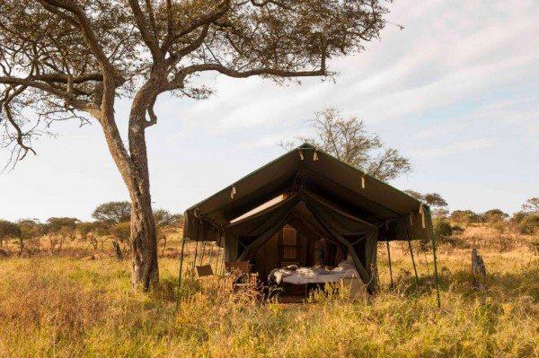Glamping in Tansania