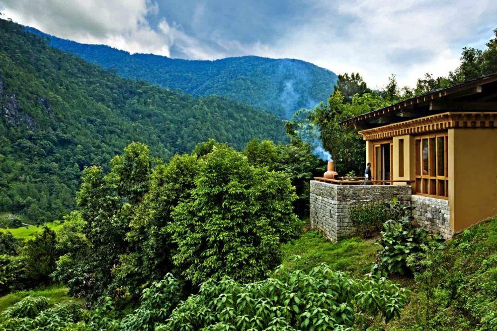 bhutan luxushotel