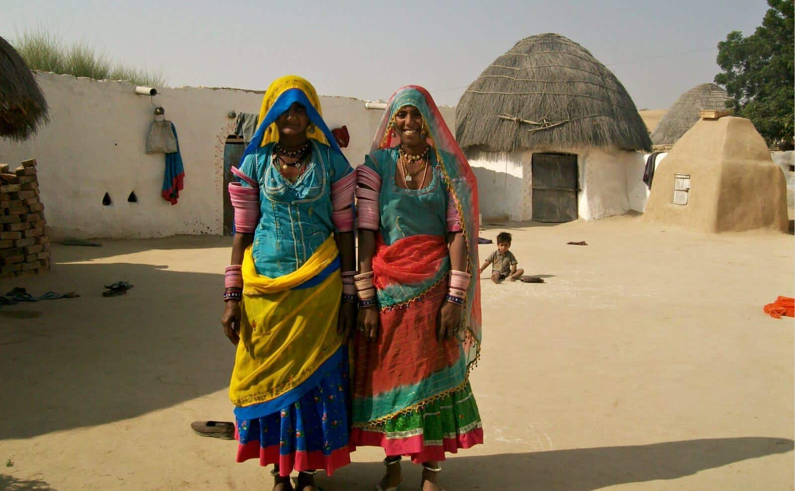 Indien_FrauenKamelsafari