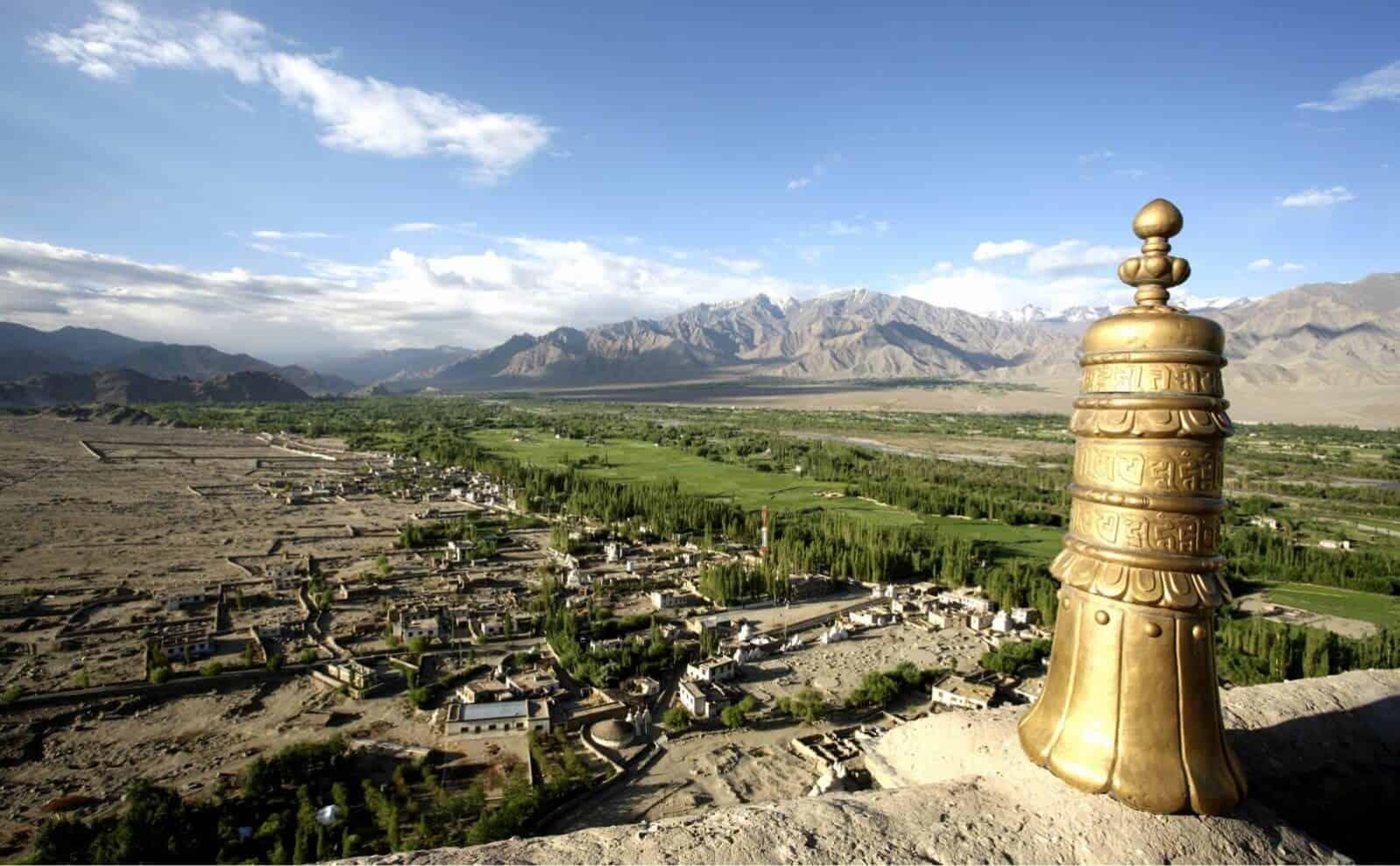 Aussicht vom Thiksey Kloster, Ladakh
