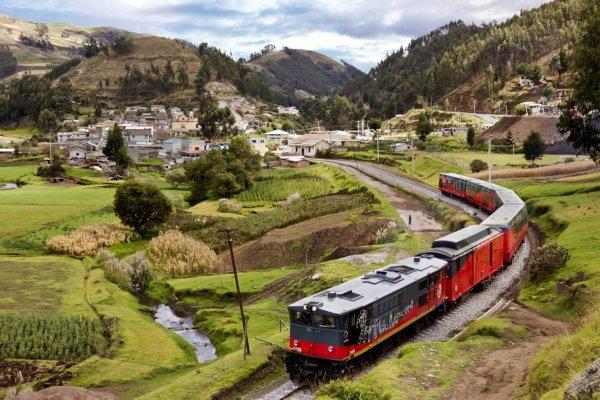 Zugfahrt Ecuador