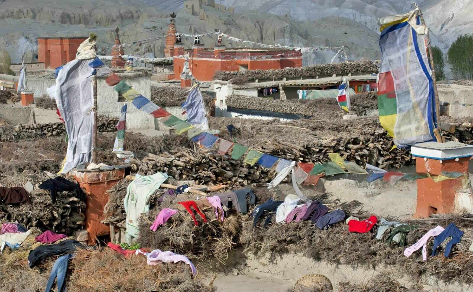 Dorf in Nepal