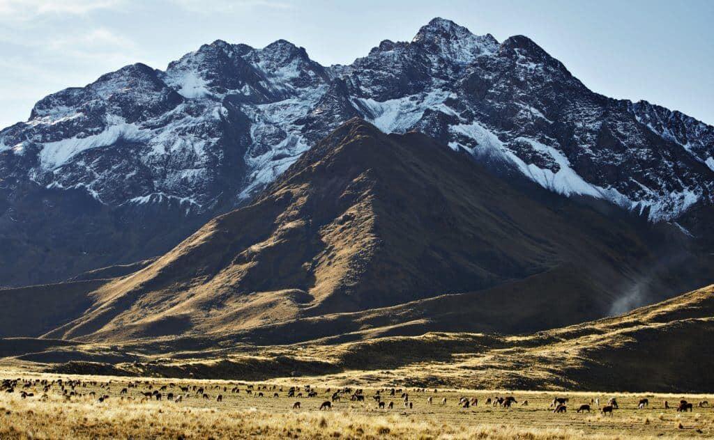 Ausblicke aus dem Anden Explorer