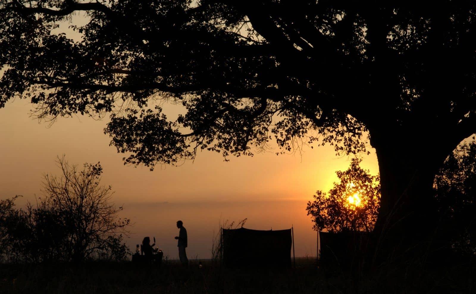 Sunset Chada Katavi © Nomad Tanzania
