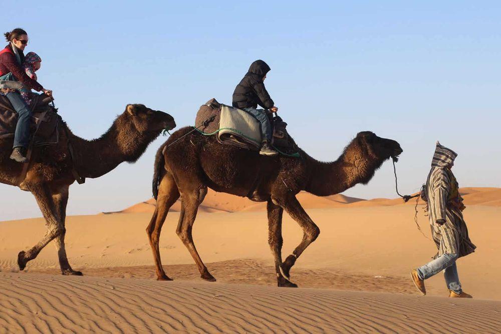 Erleben Sie Ihr eigenes Wüstenabenteuer bei Sandboarding, im Sandsturm dinieren, Stargazing, Kamelreiten, Balooning und Schlafen in einem Wüsten-Camp