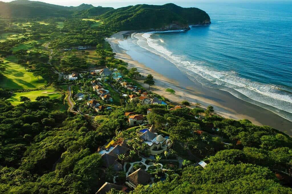 Mukul Resort Aerial