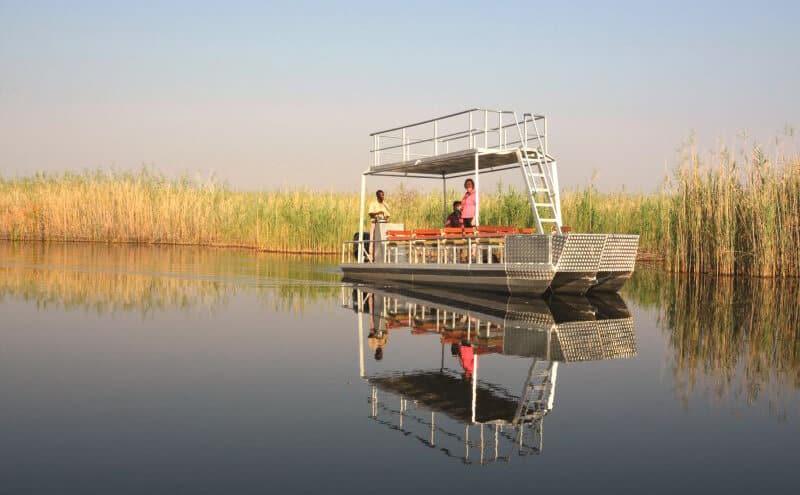 Namibia Roadtrip Bootsfahrt