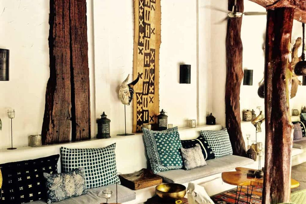 Nicaragua-Granada-Tribal-Hotel-Lobby