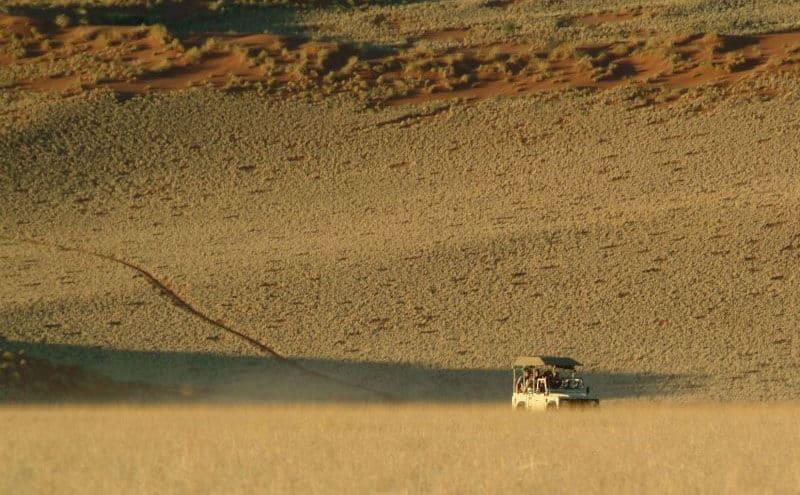 Pirschfahrt Namibia Rand