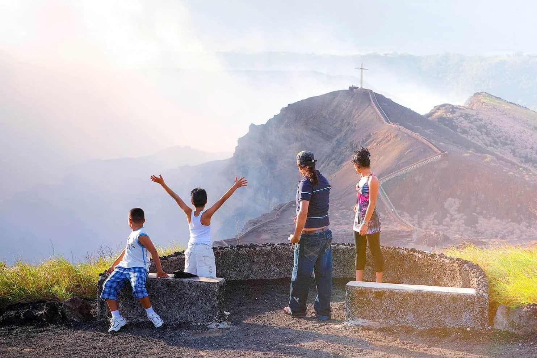 Ausblick auf die Vulkane