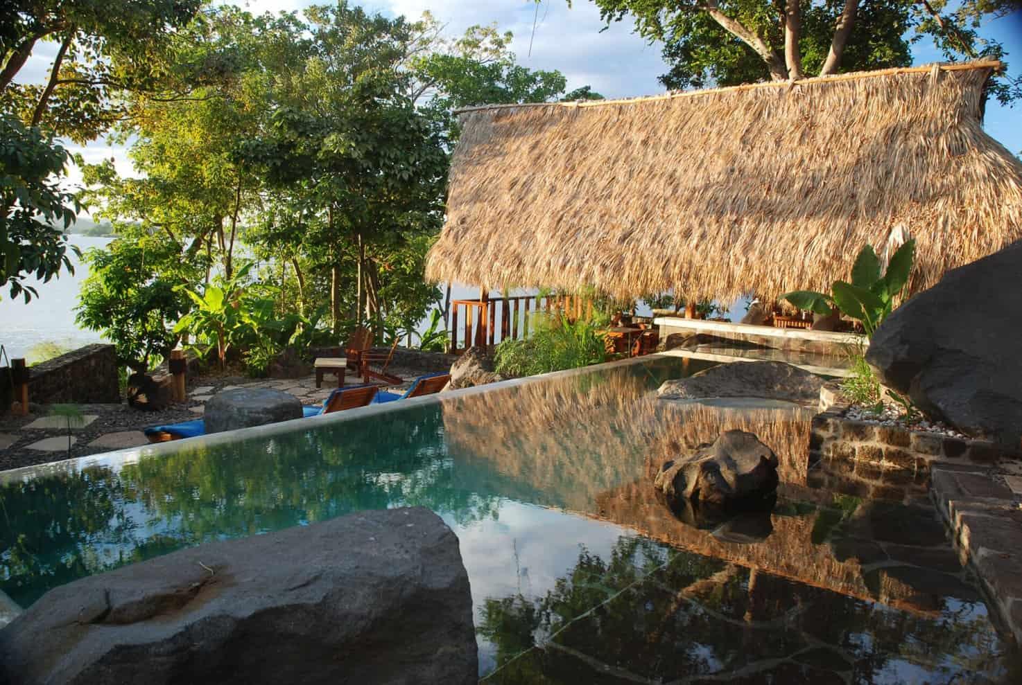 Jicaro Island Lodge Terrasse