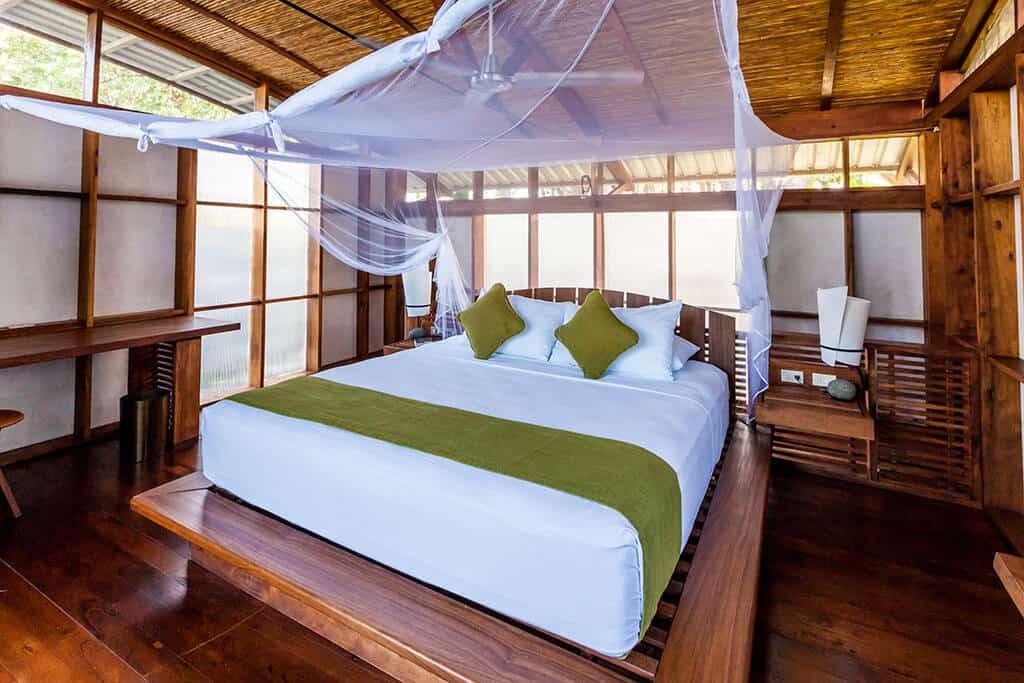 Jicaro Island Lodge Zimmer