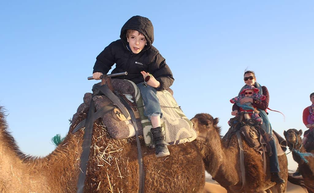 Marokko -  Berge, Wüste & Meer mit Kids