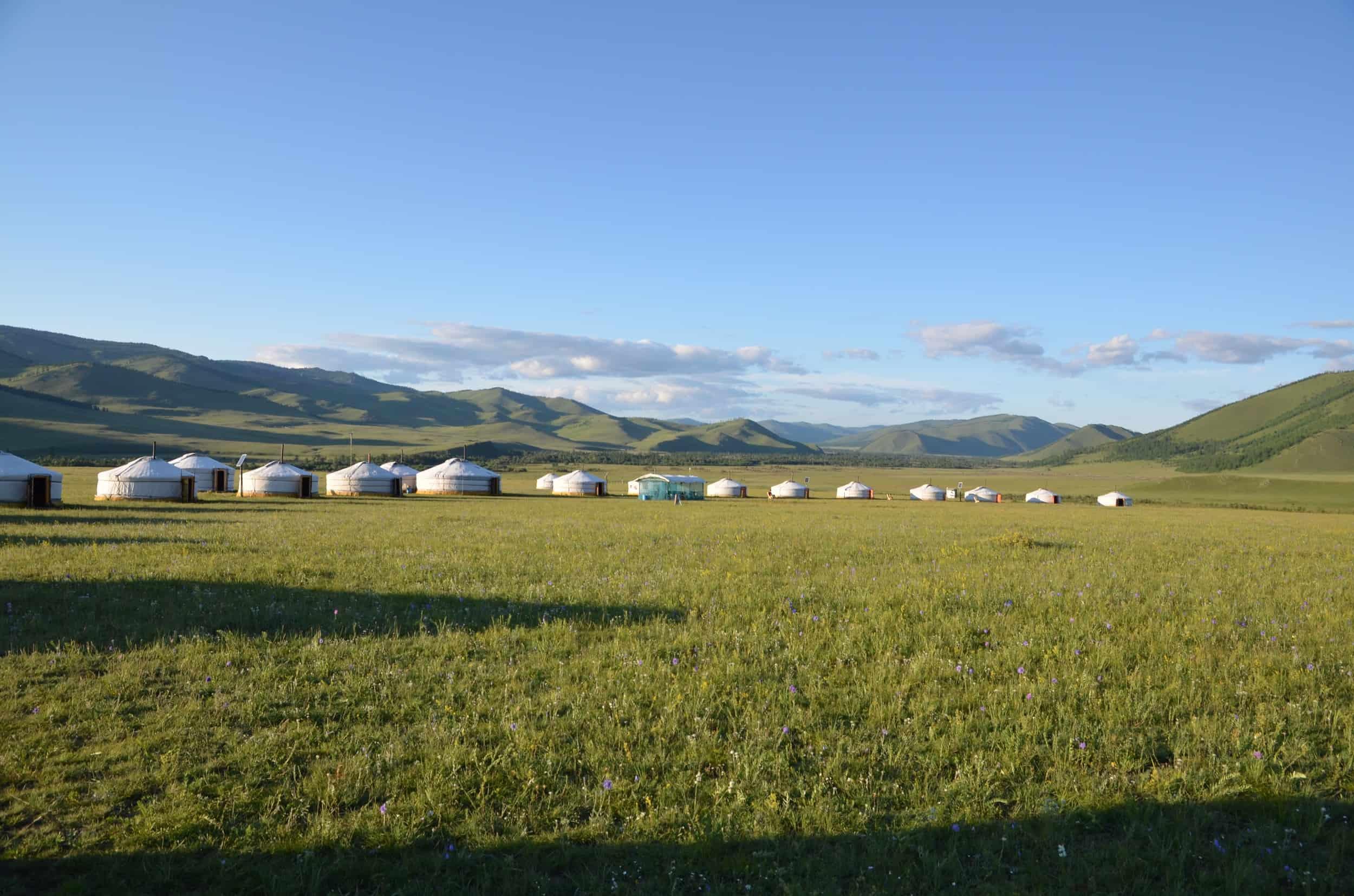 Mongolei Jurten