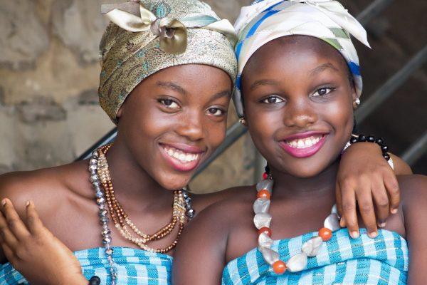 Geschwister Afrika