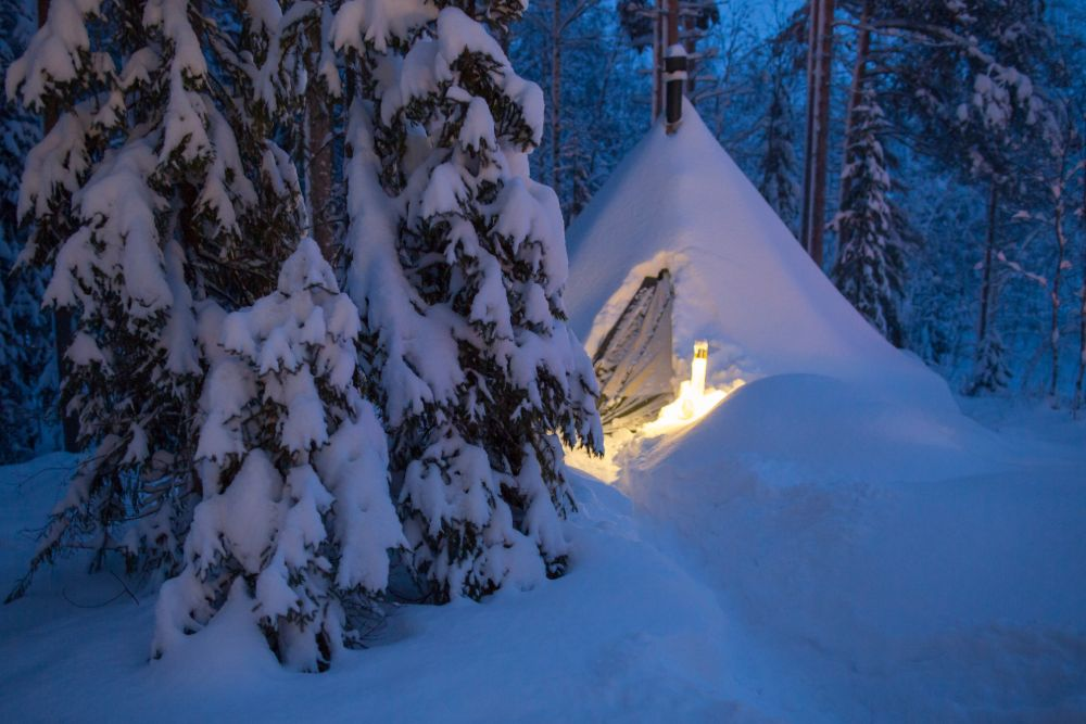 glamping in lappland