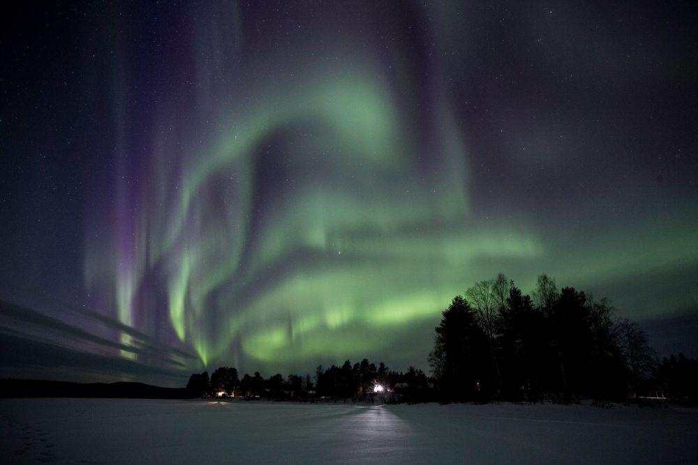 Nordlicht schweden Finnland