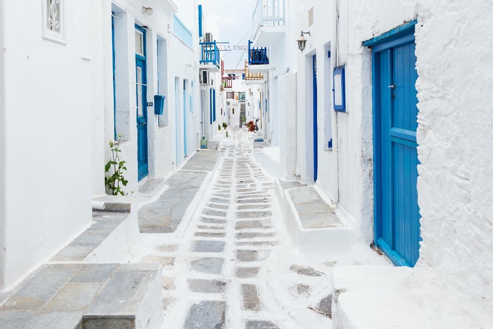 Mykonos Straße