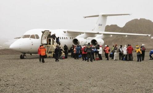 Antarktisexpeditionflugzeug