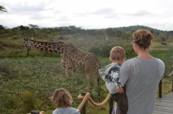 Namibia with children